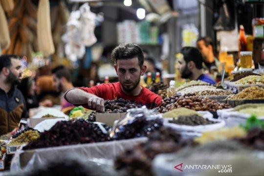 Mengintip aktivitas warga Gaza jelang bulan ramadhan