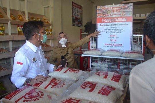 Mentan ajak masyarakat beli kebutuhan pokok di TTIC Makassar