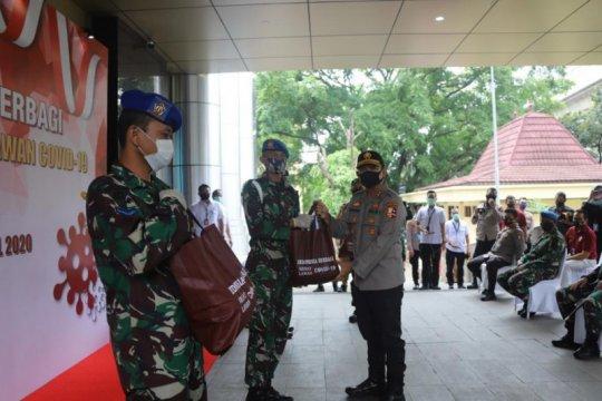 Bareskrim Polri bagikan 10 ribu paket sembako untuk DKI, Jabar, Banten