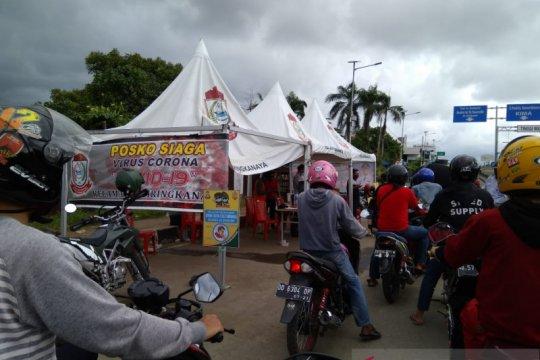 Uji coba PSBB di Makassar, Satgas perketat pengawasan batas kota