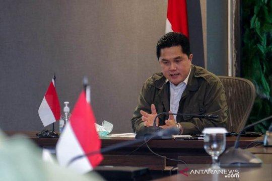 Erick: Agenda Kementerian BUMN bergeser untuk pengamanan kesehatan