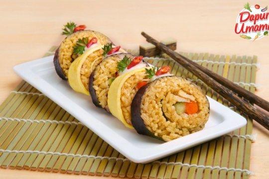 Resep nasi goreng sushi