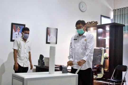 PU Kota Kediri rakit alat penyemprot disinfektan portabel