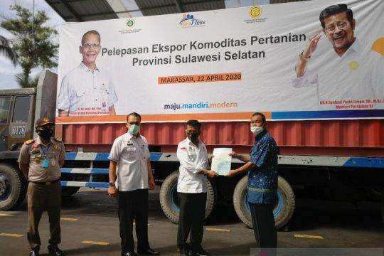 Mentan lepas ekspor kacang mete dari Makassar ke Eropa