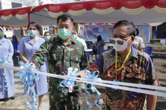 Perumahan KPR bagi personel TNI AU di Manado diresmikan