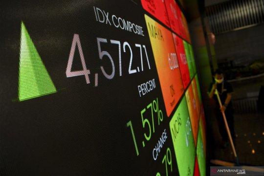IHSG ditutup menguat, meski minim sentimen di pasar saham