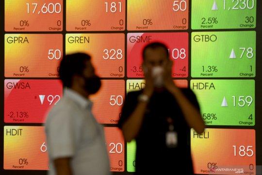 IHSG ditutup menguat pasca rilis data inflasi September