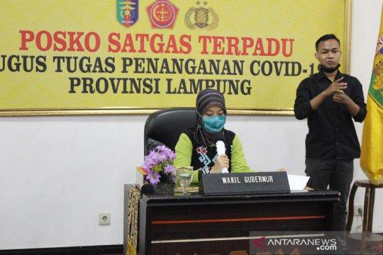 Wagub Chusnunia minta masyarakat Lampung shalat tarawih di rumah
