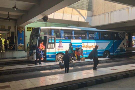 Terminal Giwangan tidak lagi berangkatkan bus tujuan Jabodetabek