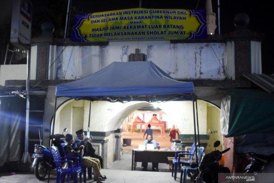 Masjid Kampung Luar Batang tidak lakukan shalat Tarawih di Ramadhan