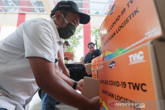 PT TWC salurkan bantuan untuk warga terdampak pandemi COVID-19