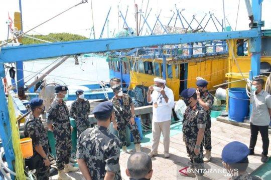 ABK asing yang ditangkap mencuri ikan tidak tunjukkan gejala COVID-19