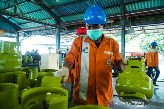 Pertamina pastikan pasokan LPG-BBM aman