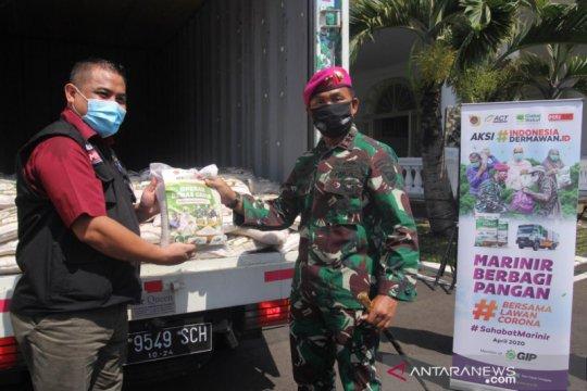 ACT dan TNI AL siap distribusikan enam ton beras