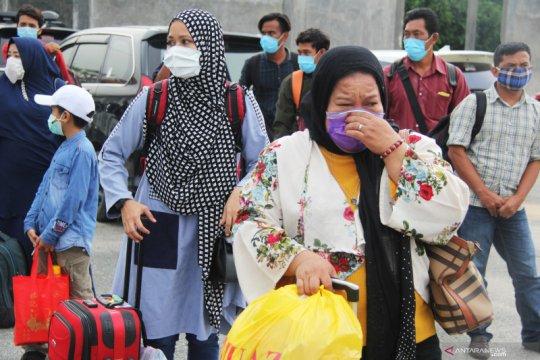 Sebanyak 111 WNI dipulangkan dari Sabah Malaysia ke Nunukan
