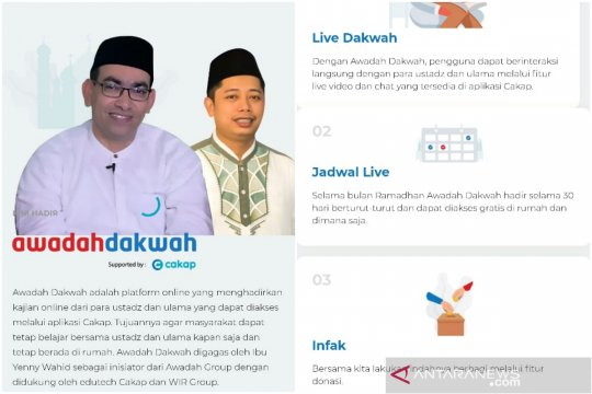 Ramadhan di tengah pandemi, belajar agama bisa lewat platform online