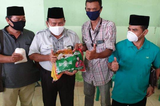 Pengurus NU Sumsel bagikan 8.000 paket sembako untuk warga