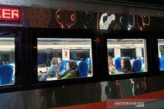 KAI Palembang hentikan operasional tiga kereta api
