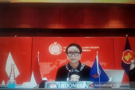 Menlu RI: kemitraan ASEAN-AS harus bermanfaat untuk tangani COVID-19