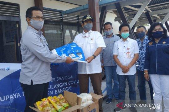 DSLNG salurkan sembako dan alkes bantu perangi COVID-19 di Banggai