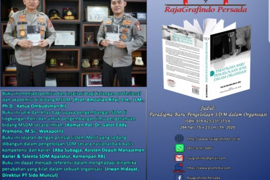 Asisten SDM Kapolri Irjen Eko Indra Heri luncurkan buku manajemen SDM