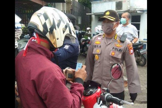 Polda Banten keluarkan 2.833 teguran simpatik selama enam hari PSBB