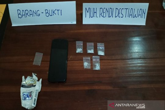Polisi tangkap pengedar narkoba diduga jaringan Lapas Kendari