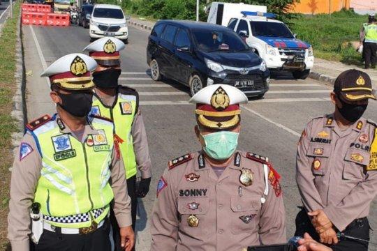 Polisi tutup sejumlah ruas jalan di Medan mulai malam ini hingga besok