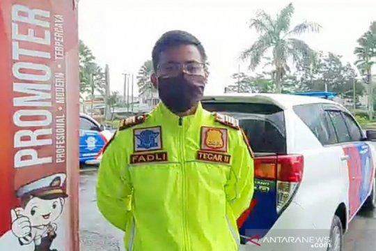 Polres Bogor cegah mudik di perbatasan Cianjur dan Sukabumi