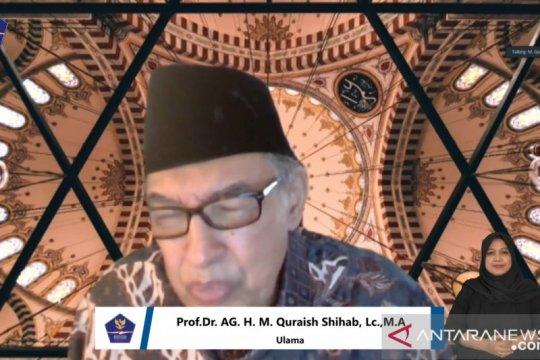 Quraish Shihab sebut kini momentum baik tadarus di rumah