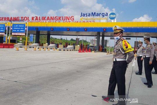 Polda Jateng sekat jalur di perbatasan Jabar