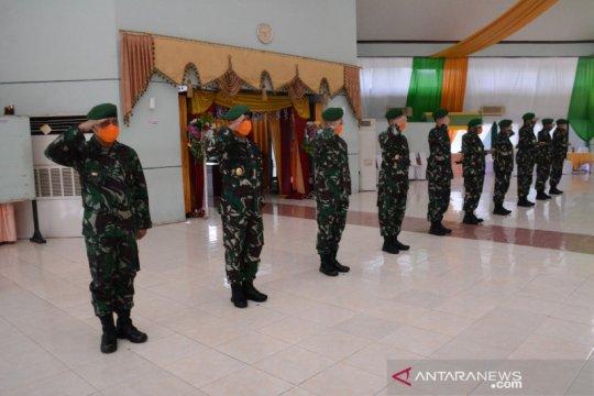 Sertijab di Kodam XIV/Hasanuddin ikuti protokol kesehatan