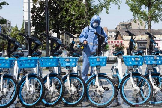 Layanan berbagi sepeda listrik di Provinsi Hubei