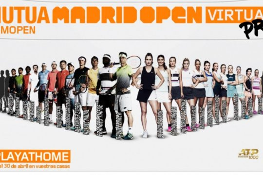 Kompetisi Mutua Madrid Open Virtual dimulai Senin