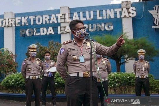Polda Lampung tetapkan 7 titik penyekatan antisipasi  COVID-19