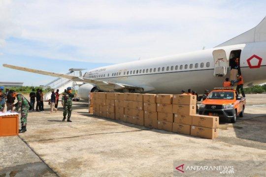 Bantuan 3.100 APD untuk Kaltara tiba di Tarakan