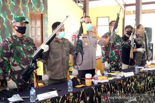Polri janji bakal ungkap peredaran senjata api ilegal di Papua