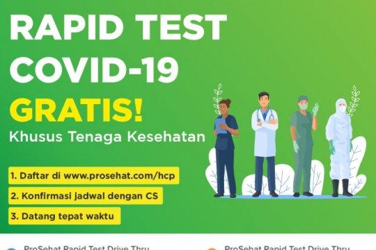 """ProSehat adakan """"rapid test"""" gratis untuk tenaga kesehatan"""