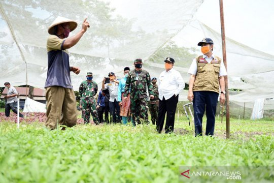 Kelompok tani terdampak COVID-19 di Riau dapat bantuan sembako
