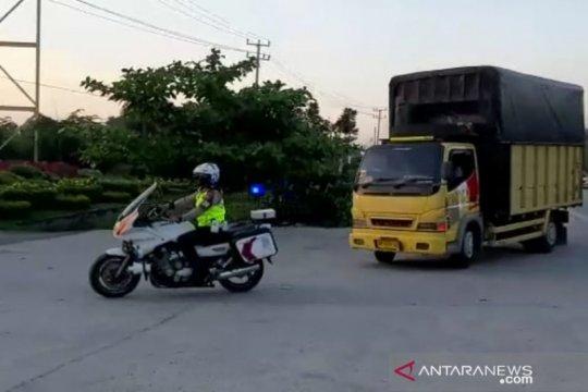 Polresta Pekanbaru perketat pengawasan perbatasan cegah warga mudik