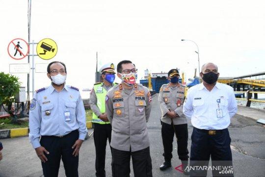 Polri: Cegah 8 ribu kendaraan pemudik Jawa-Sumatera