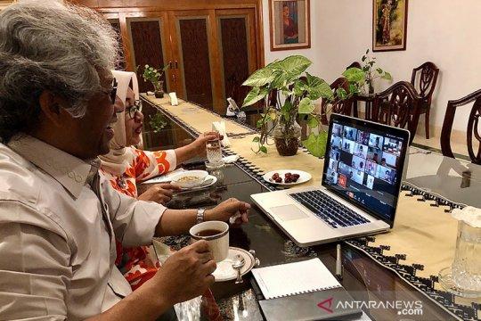 Dubes, mahasiswa Indonesia di Pakistan berbuka puasa bersama virtual