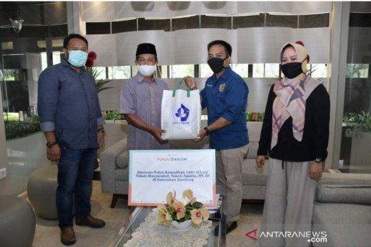 Pupuk Kaltim salurkan ratusan paket sembako Ramadhan pada mitra kerja
