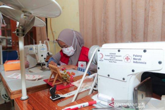 Produksi ribuan masker, PMI-Bulan Sabit Merah Turki bekerja sama