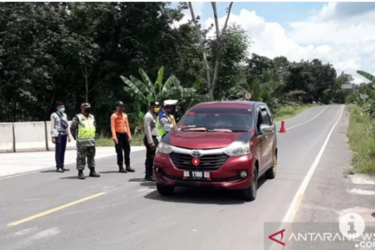Polres Mesuji pulangkan 104 kendaraan ke daerah asal