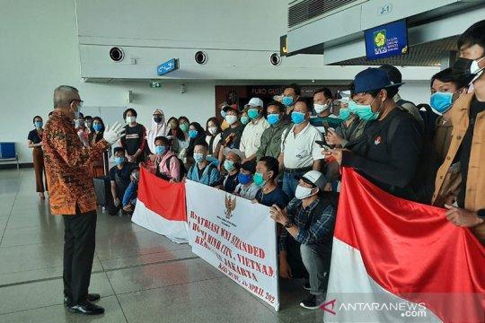 KJRI Ho Chi Minh City pulangkan 37 WNI dari Vietnam ke Jakarta