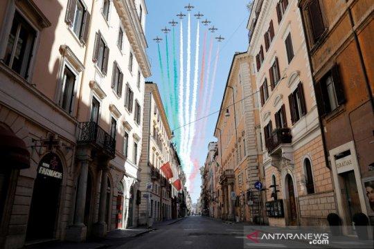 Kebijakan luar negeri Italia tak berubah meski dibantu China, Rusia