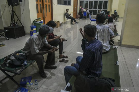 Pemkot Jakarta Pusat pulangkan 25 tunawisma terjaring di Tanah Abang