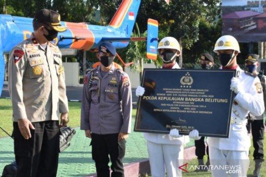 Tipologi Polda Bangka Belitung naik ke tipe A