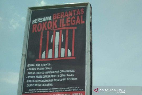 Tersangka kasus rokok ilegal dititipkan di tahanan Bea Cukai Pusat